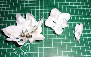 Flor de Colher de plástico