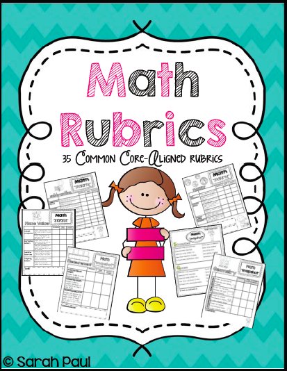 Sarah's First Grade Snippets: Common Core Math Rubrics for First Grade
