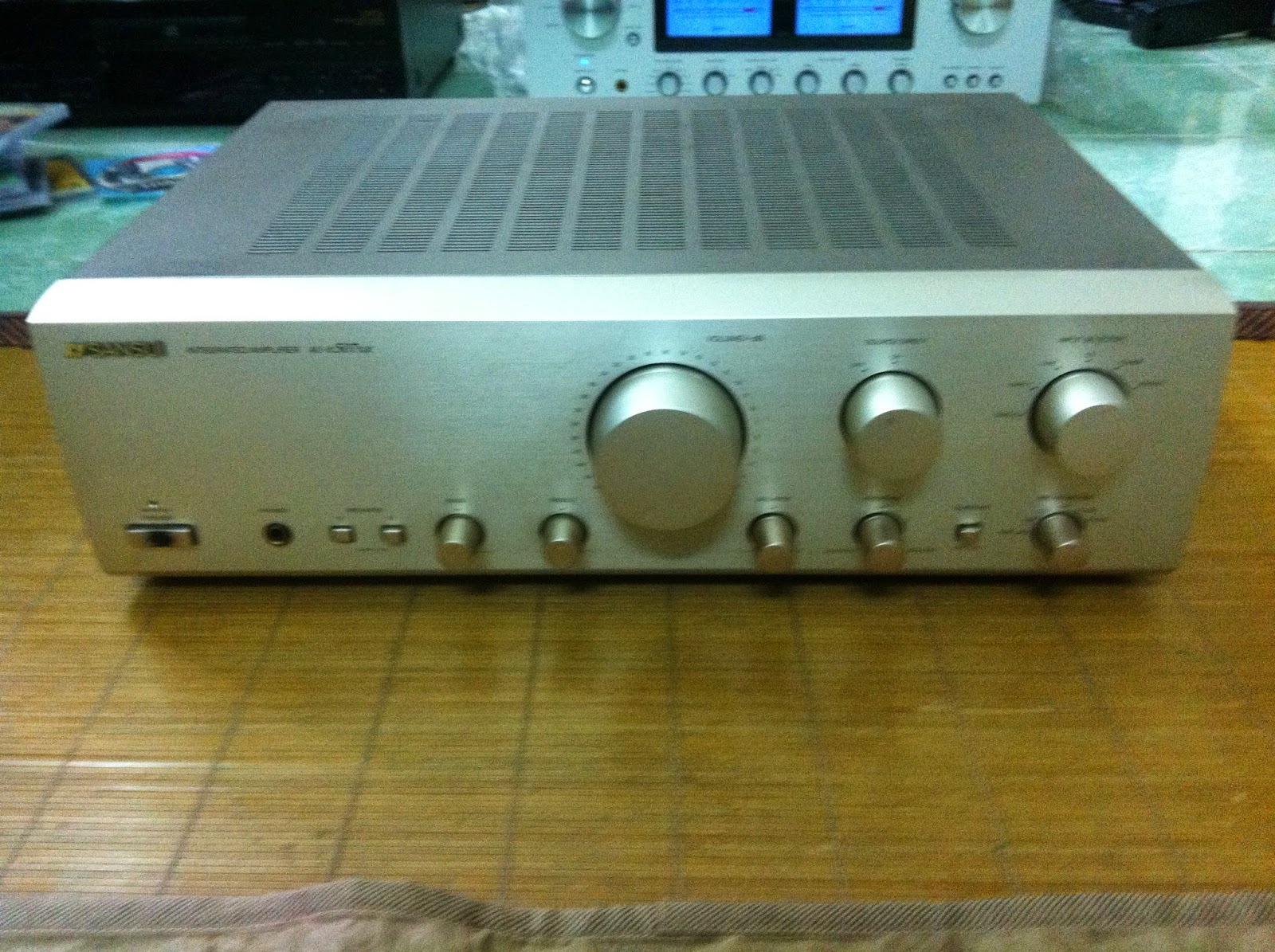 Amply Sansui - AU-alpha 507XR - Made in Japan