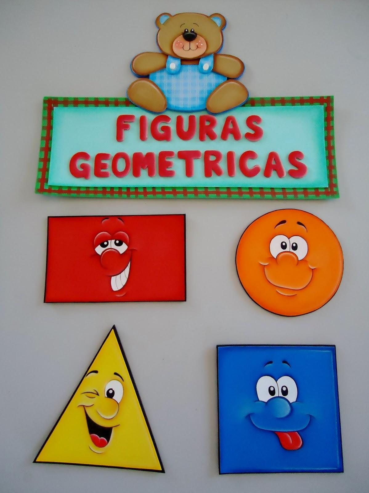 Cia da arte ursinhos for Cuadros con formas geometricas