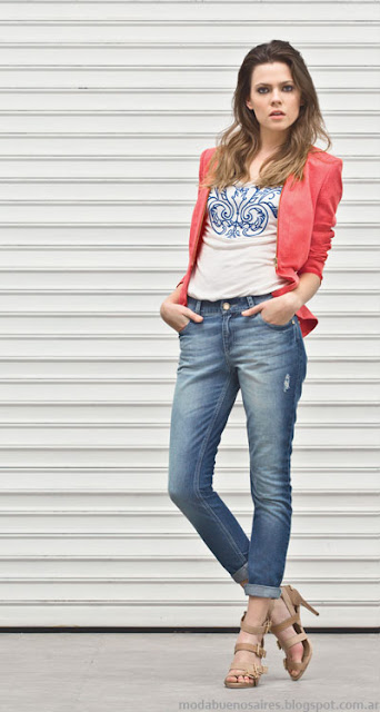 Markova jeans moda verano 2014. Pantalones de verano 2014.
