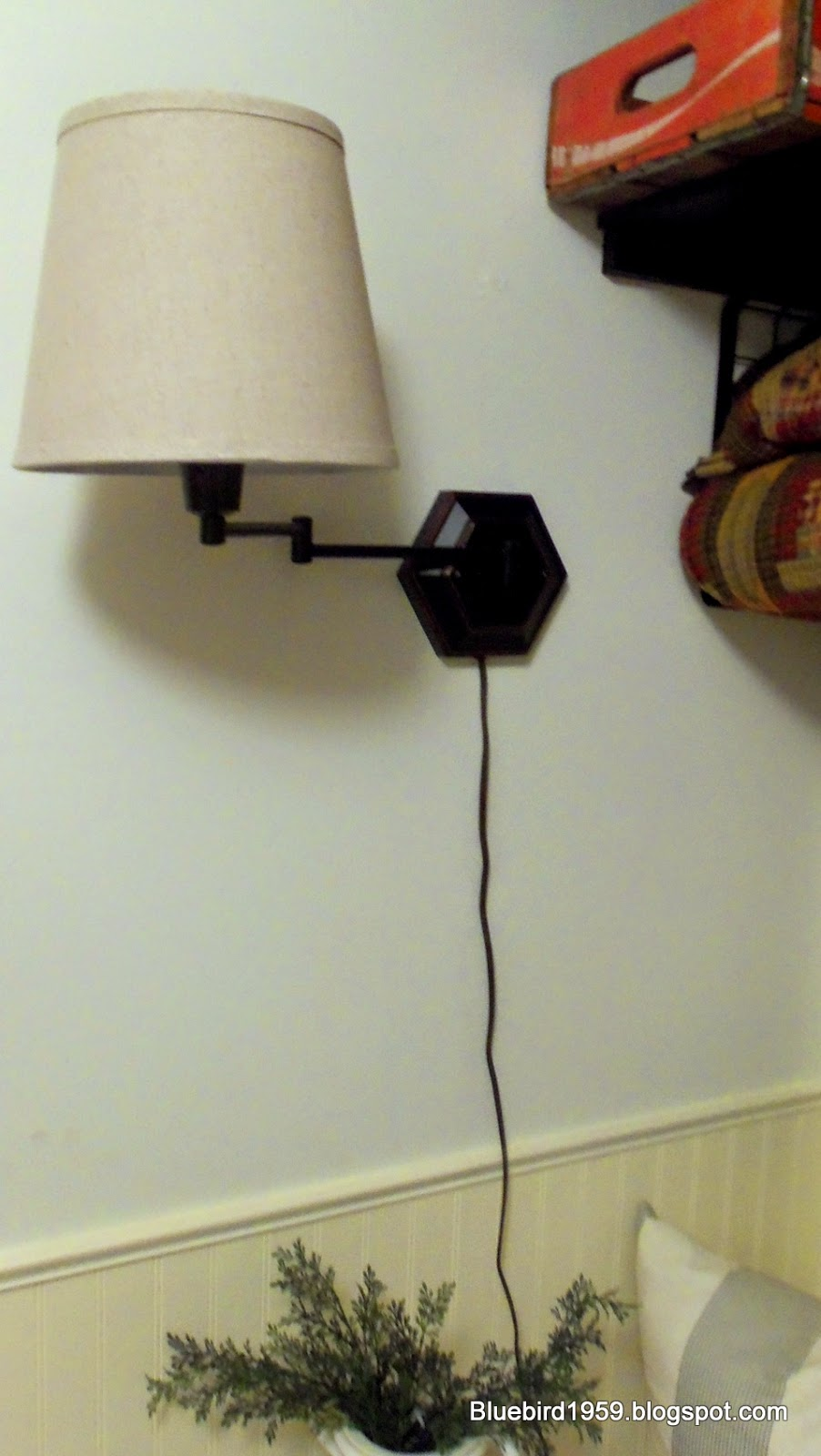 bluebird1959 easy diy cord cover. Black Bedroom Furniture Sets. Home Design Ideas