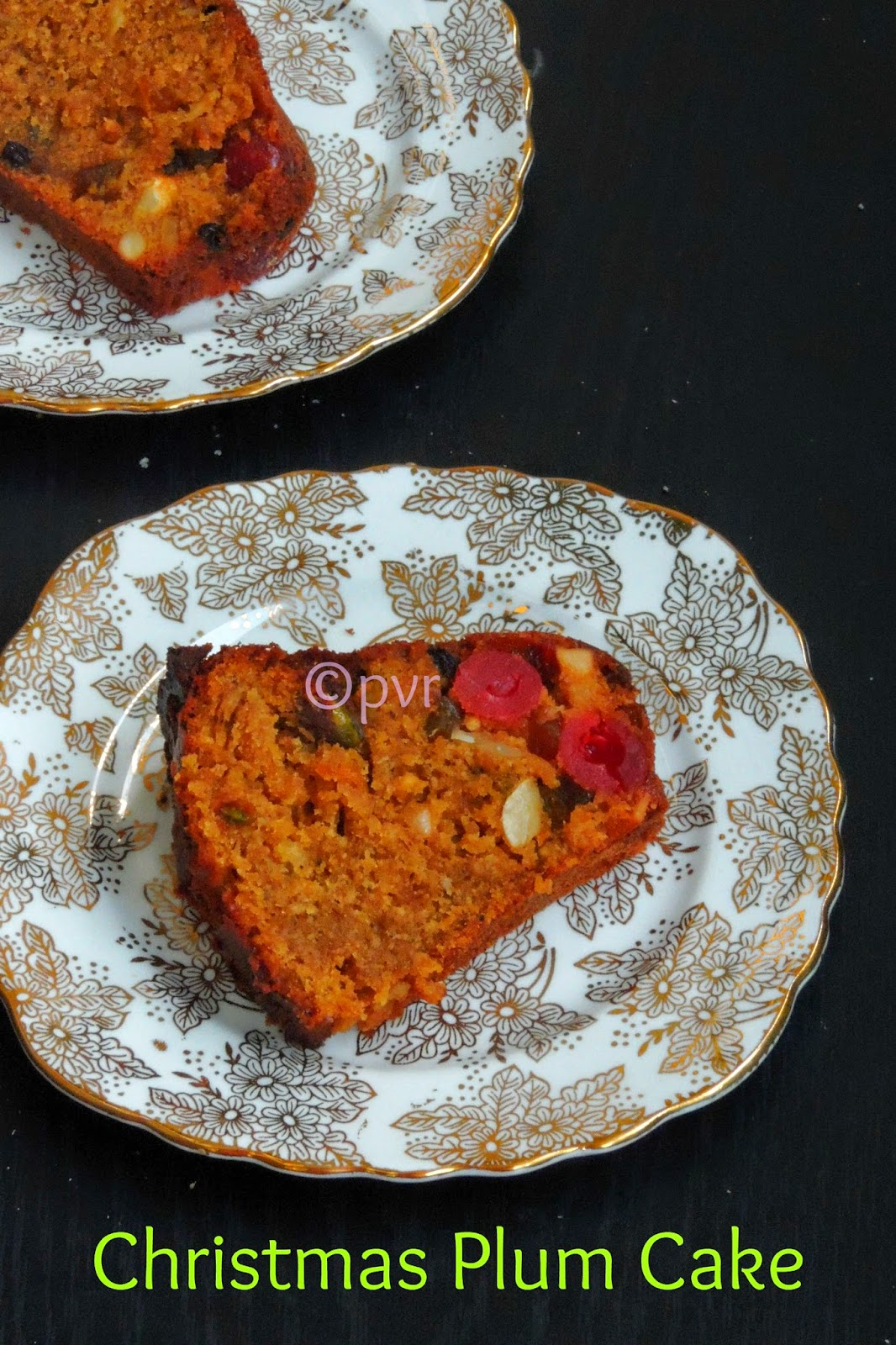 Pondicherry plum cake, Christmas plum cake