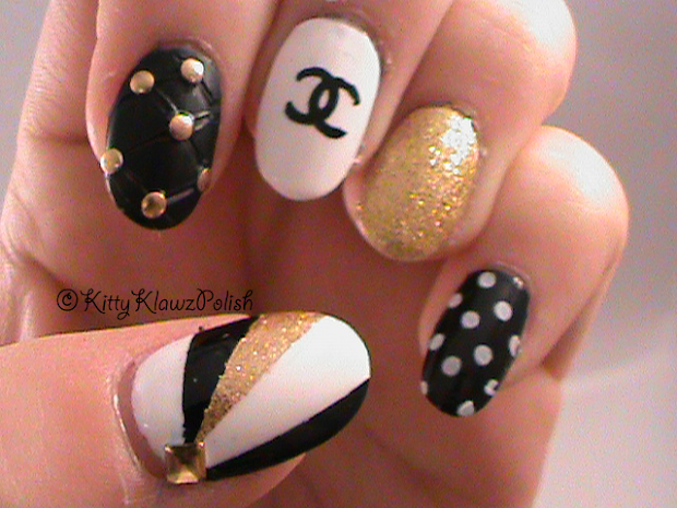 kittyklawzpolish stamping nails