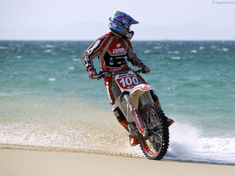 papel de parede Motocross Extreme