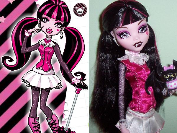 Monster High Draculaura Para Colorear