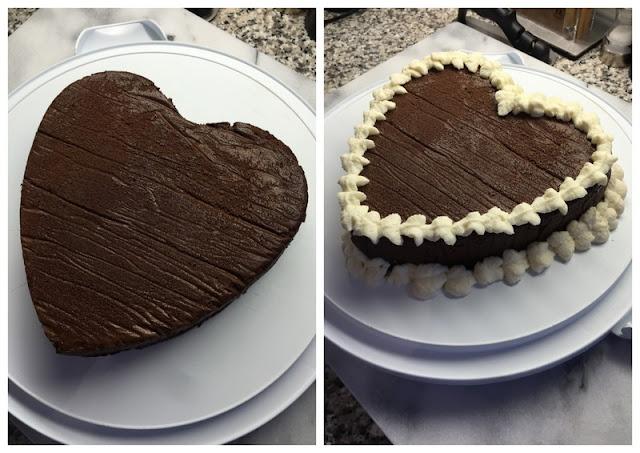 Mutfağımdan: Unsuz Cikolatali Kek - Roberta Heart Cake