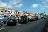 Kuala Belait Town in Brunei