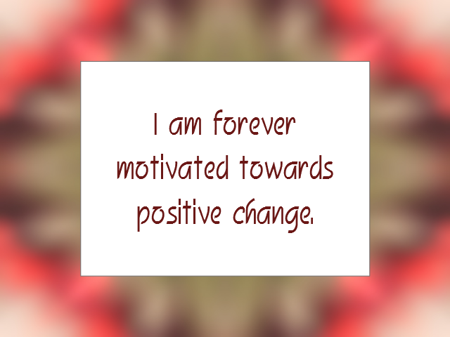 SELF-IMPROVEMENT affirmation