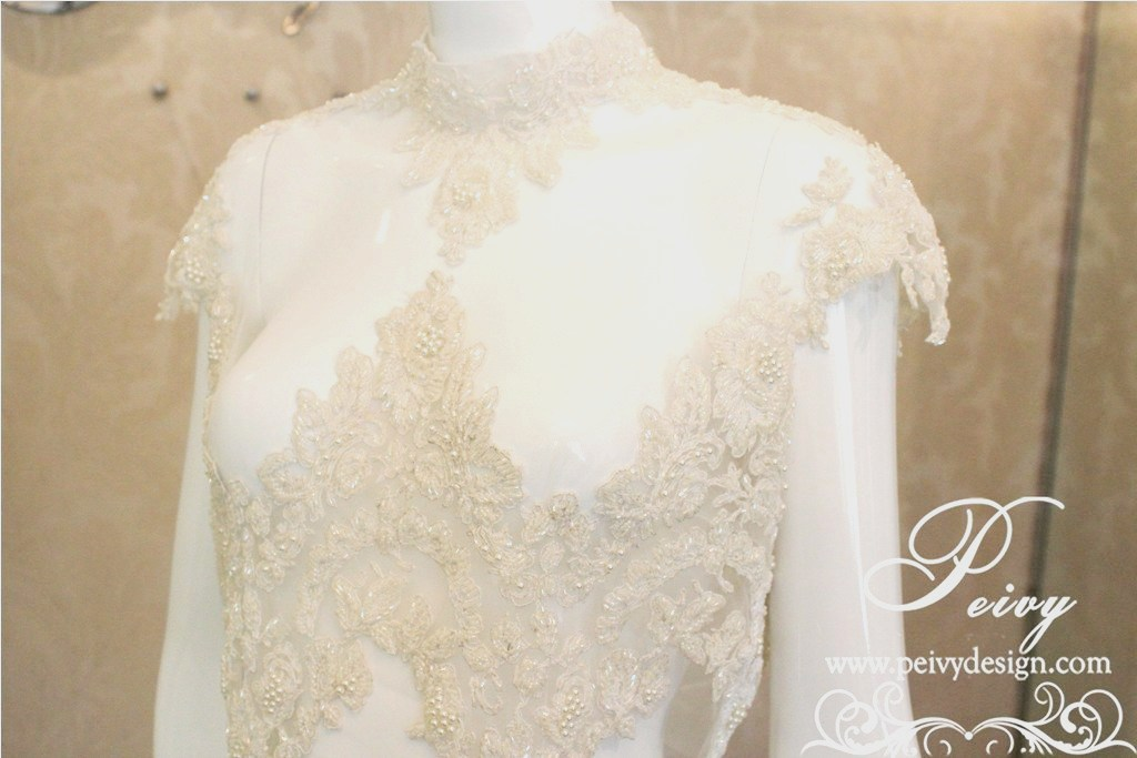 2nd wedding bolero courtesy of bridal peivy for Designer bolero