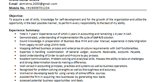sap sd functional consultant resume hire it people