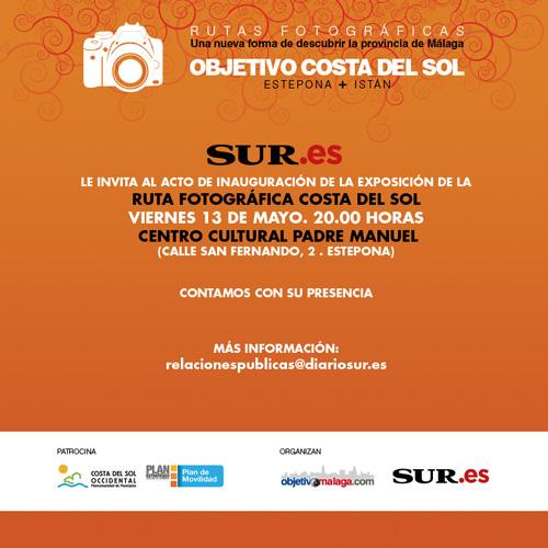 Este viernes, a recoger premio de fotografia en Estepona :-)