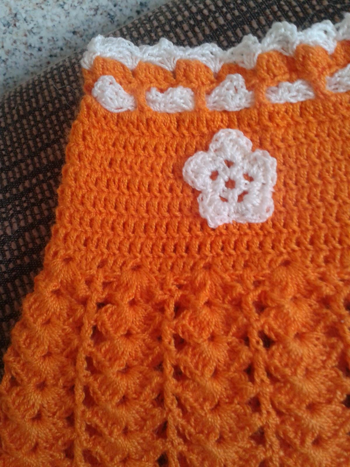 Falda Tejida a Crochet Para Nina