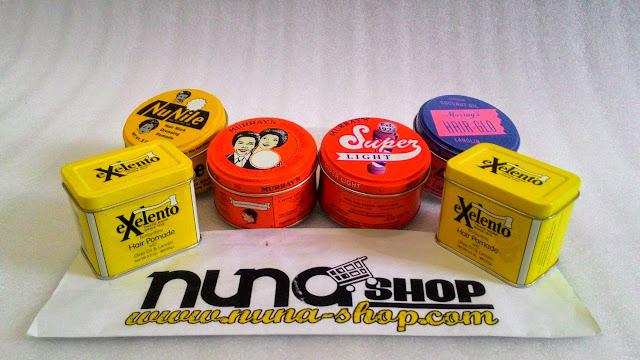 Pomade Murray Pomade Superior, New Pack Exelento, Nu Nile, Superlight, Hair-Glo
