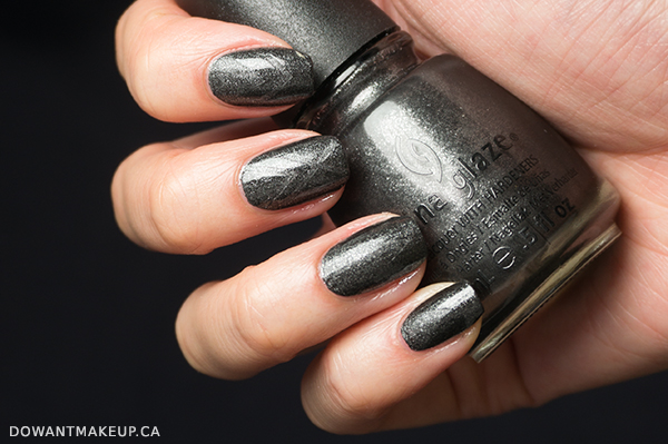 China Glaze Stone Cold nail polish swatch