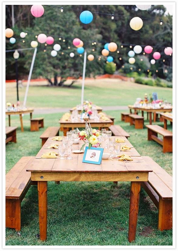 ... Picnic Wedding Ideas - Elegant Table Decorations  Wedding Stuff Ideas