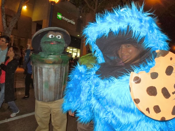West Hollywood Carnaval Sesame Street costumes