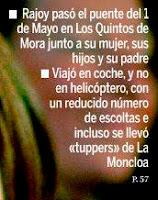Rajoy se llevó incluso tuppers de la Moncloa