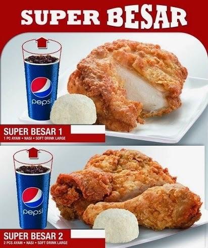 harga paket super besar 1 kfc,harga paket kfc super besar 2,harga kfc super besar 2 terbaru,