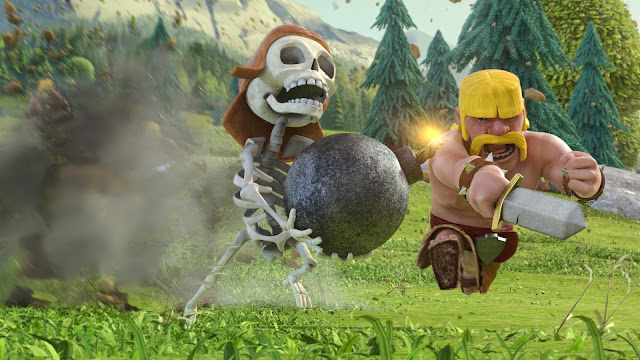 190900-Wall Breaker and Barbarian Clash of Clans HD Wallpaperz