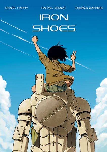 Cómic Iron Shoes