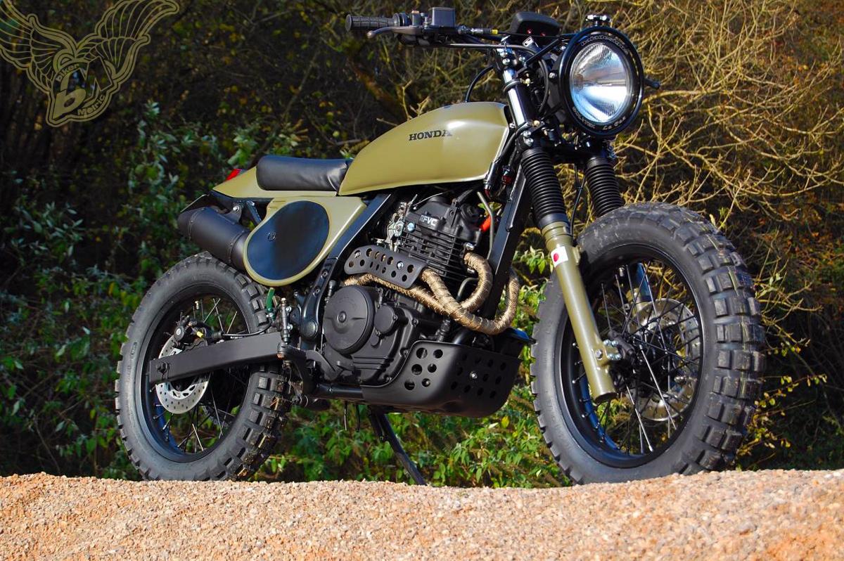 custom honda nx650 dominator | backtracker
