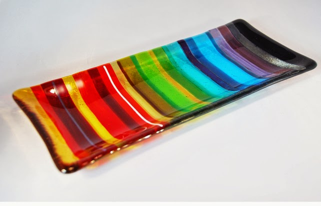 http://folksy.com/items/5177621-Fused-Glass-Chromatic-Rainbow-Long-Dish-1