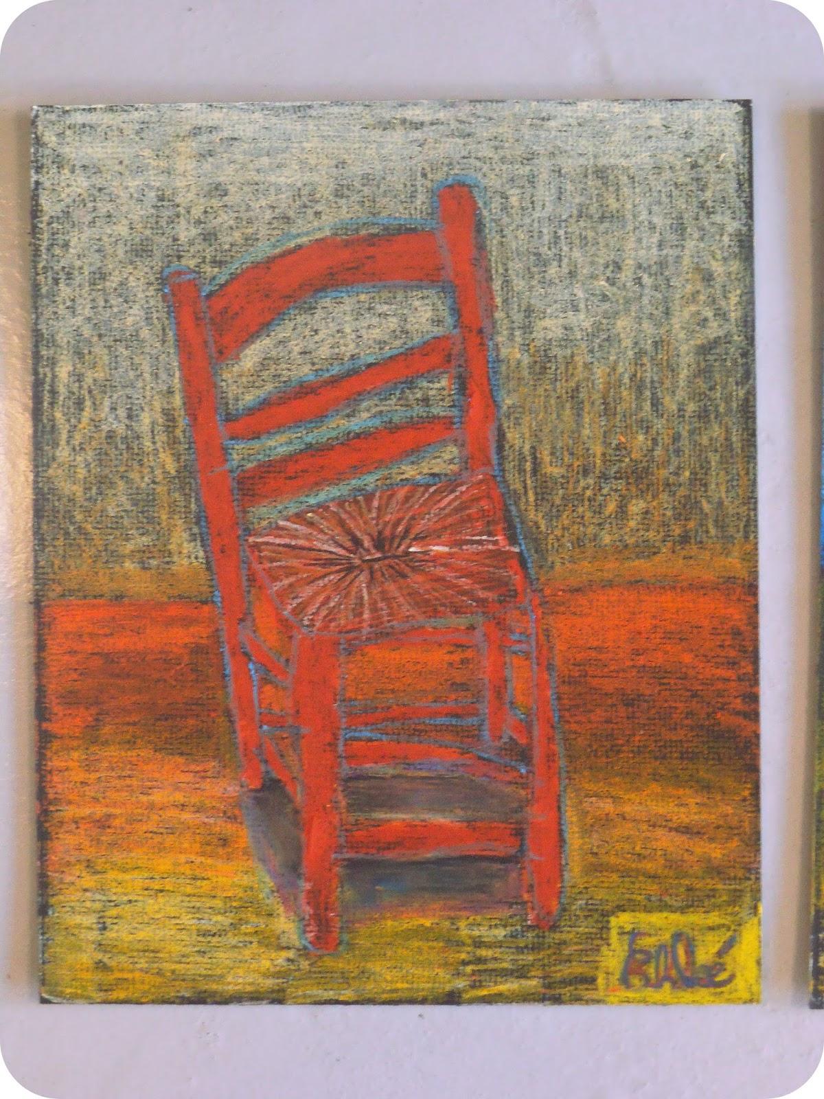 micka lle delam atelier dessin et peinture marmande chaises fa on van gogh. Black Bedroom Furniture Sets. Home Design Ideas