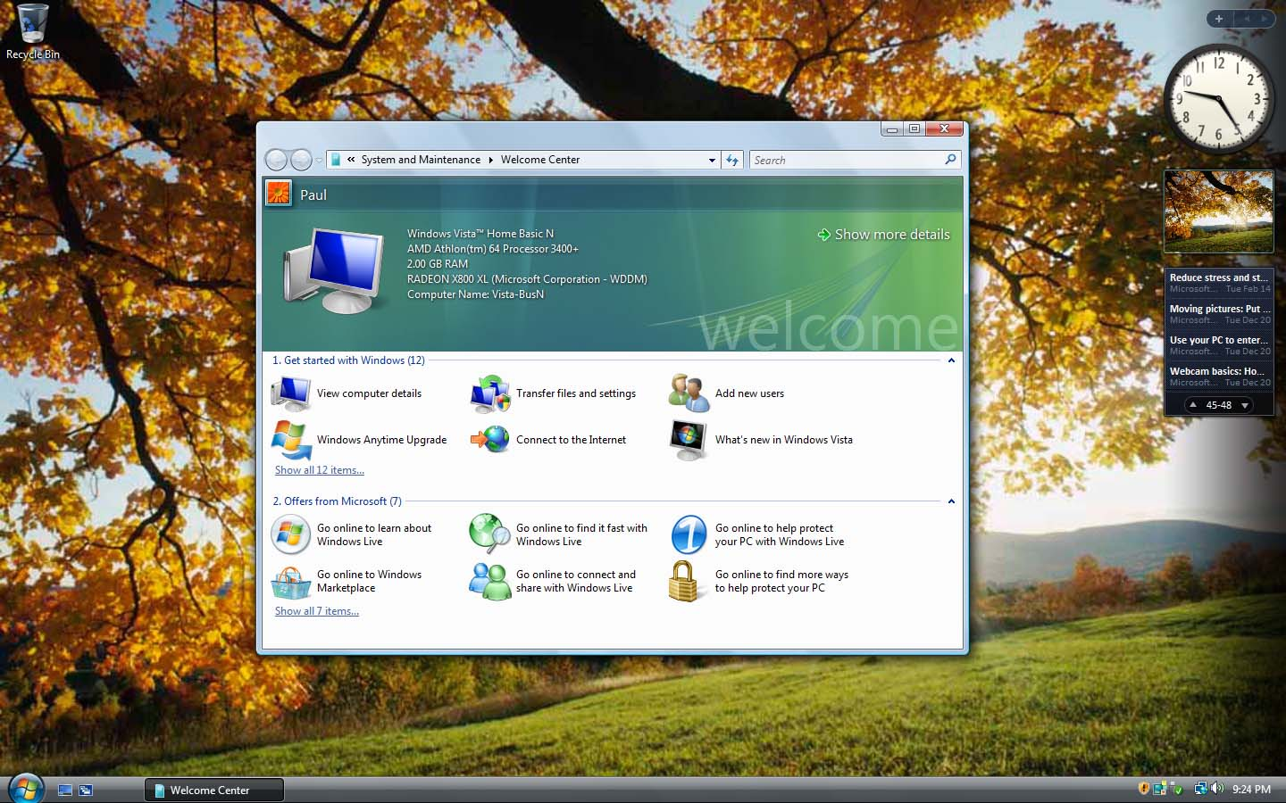 Windows Vista Home Basic Free Download