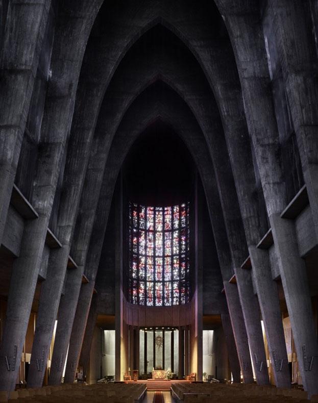 Interiores modernos de Iglesias por Fabrice Fouillet