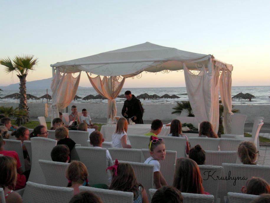 Włochy, Campania, hotel, Italia, resort Le Ancore, Juventur Tarnobrzeg, obóz, Juventur, msza święta na plaży, opinia, opis hotelu, Marina di Varcaturo