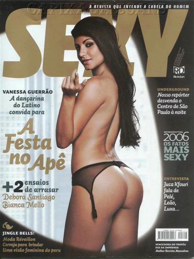 Vanessa Guerrão pelada