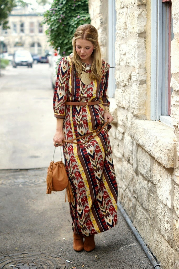 Boho vintage style for fall