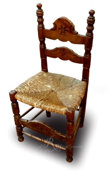 Retroalmacen tienda online de antig edades vintage y decoraci n gran lote de 13 sillas - Sillas rusticas ...