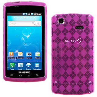Samsung Captivate Candy Diamond Pink Skin