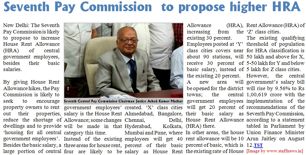My Blog 7th Pay Commission Government Employees Likely To Get 30
