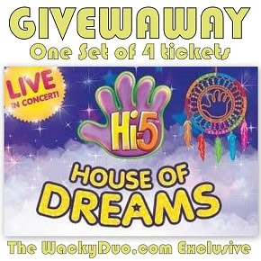 Hi 5 Tickets Giveaway ( Coming Soon)