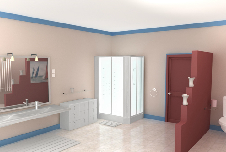 Salle De Bain Etanche  Peinture pour salle de bain  peinture salle
