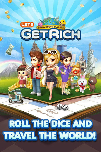 Download LINE Let's Get Rich Apk Terbaru