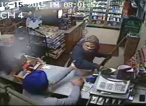 A 59-year-old Sikh, Amrik Singh, defended his petrol station from an armed robber by throwing his slipper at him.  The slipper hit the robber, a white man in mask, on his nose, throwing him off guard. A CCTV footage shows an emboldened Amrik Singh rushing to confront the robber, who manages to flee.  The incident took place at Staatsburg, near New York City.
