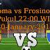 Roma vs Frosinone 31-January-2016