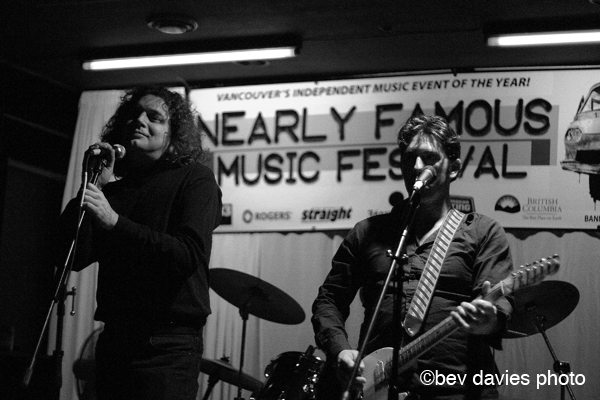 Greg Johnson and Frodo of THE FIENDS - Bev Davies photo