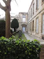 Haguenot Palace garden, Montpellier, France