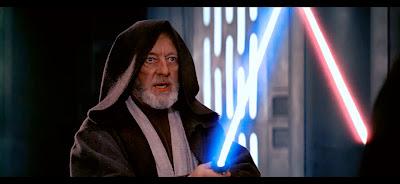 El bueno de Obi-Wan ante el lado oscuro.