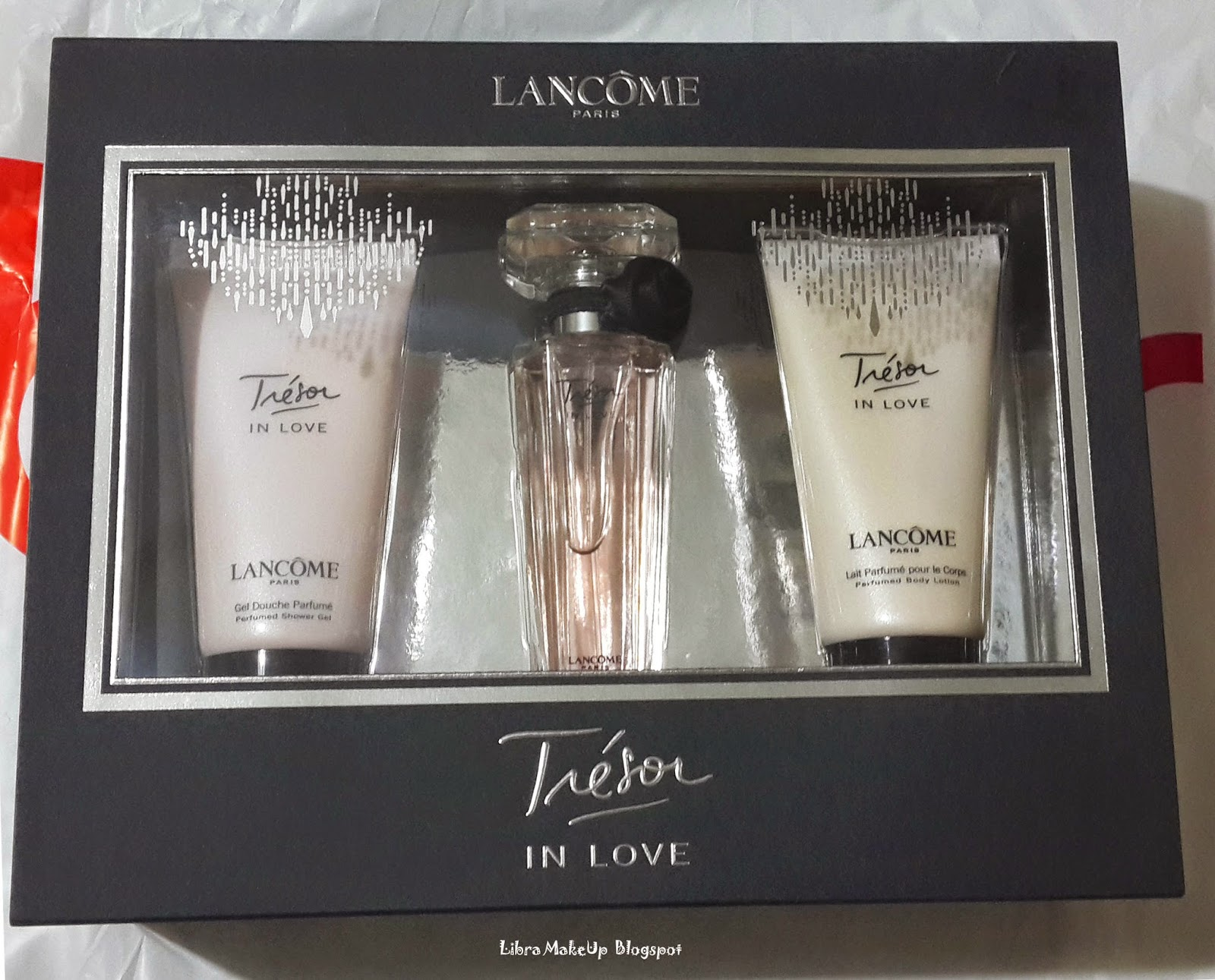 tresor in love body lotion, lancome tresor in love duş jeli, parfum lancome, parfume,