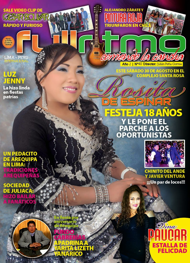 REVISTA FULL RITMO NRO 40