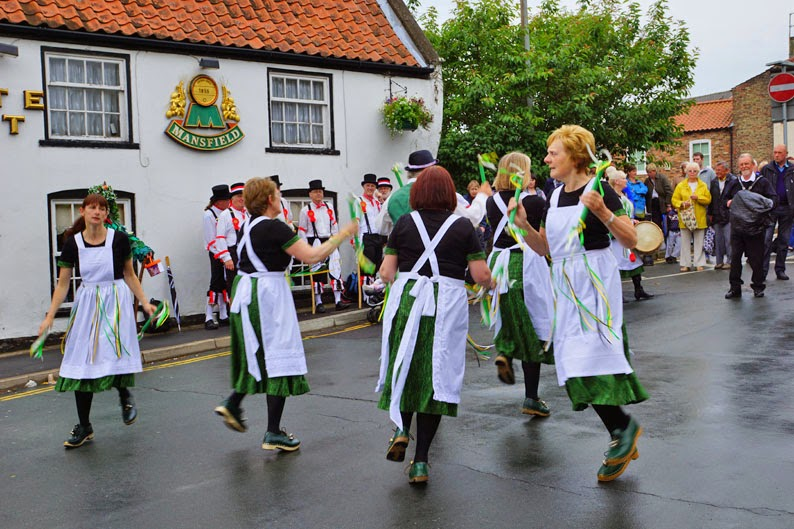 Brigg Pump Dressing 2014 - picture on Nigel Fisher's Brigg Blog
