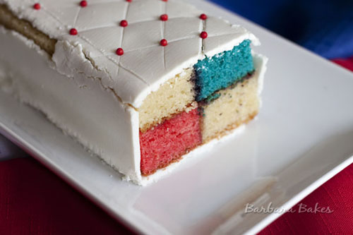 #4th_of_July #Batternberg_Cake, click for more