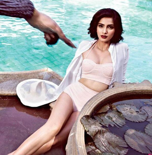 Hot Sonam Kapoor Bikini Images