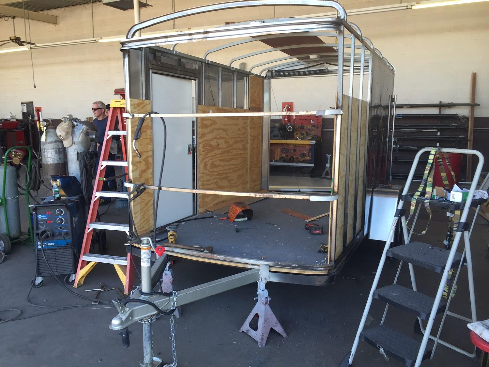 rtw enclosed trailer rebuild phoenix
